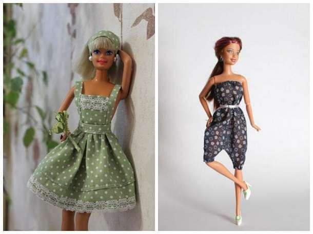 Как сделать платье для куклы барби фото 80