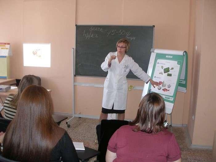 Школа здоровья для пациентов с сахарным диабетом